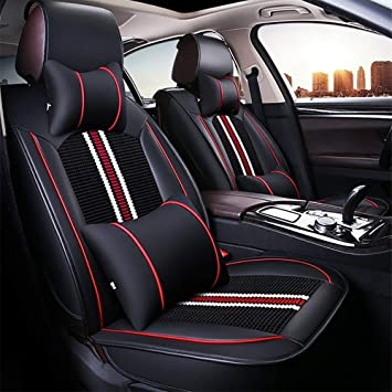 Car Seat Cushion Fundas para Asientos De Coche Ice Silk + ...