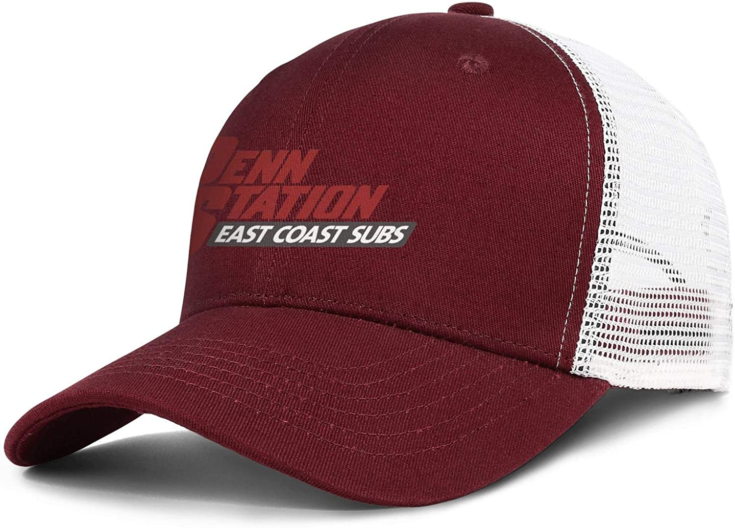 WintyHC Penn Station Sign Cowboy Hat Dad Hat One Size Gas Cap