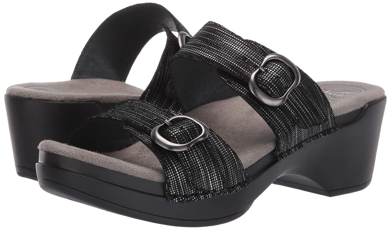 56f20dde42aa Dansko Women s Sophie Sandal Black  Amazon.ca  Shoes   Handbags