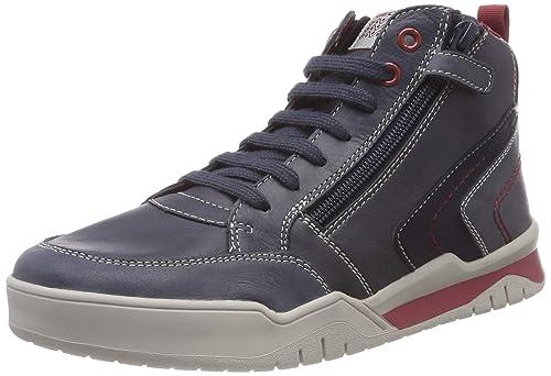 6d8d2f48a73582 Geox J Perth B, Sneaker a Collo Alto Bambino: Amazon.it: Scarpe e borse