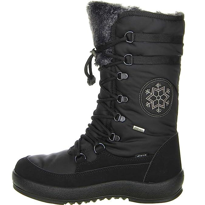 00407 Chaussures Ski Vista 11 De Bottes Schwarz Femme aq5Ow06x
