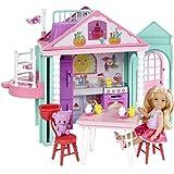 Barbie DWJ50 BarbieClub Chelsea Playhouse