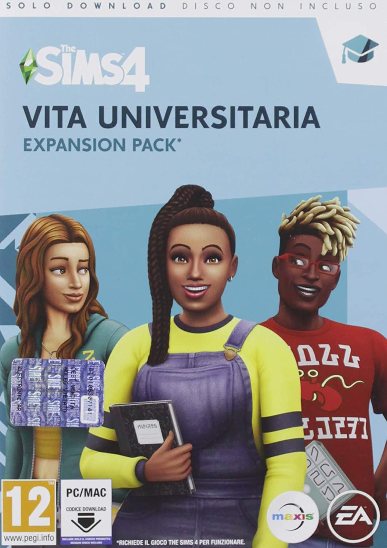 The Sims 4 (Ep8) Vita Universitaria (Ciab) - Pc [Importación italiana]: Amazon.es: Videojuegos