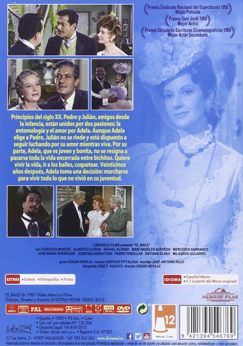 El baile [DVD]: Amazon.es: Conchita Montes, Alberto Closas, Rafael Alonso, Mari Ángeles Acevedo, Edgar Neville: Cine y Series TV