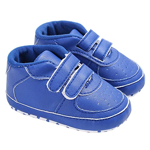 c951fa2be9465 Amazon.com | Baby Boys Shiny Sparkly Two Straps Lace-up Sneakers ...