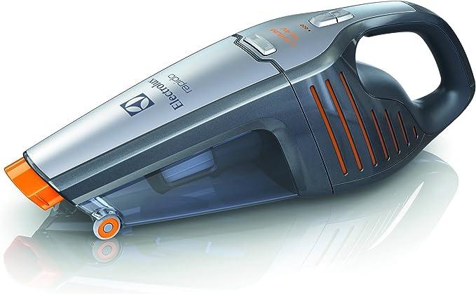 Electrolux ZB6114 Rápido-Aspirador de Mano con batería de Litio de 14 V, 0.5 litros, Gris metalizado: Amazon.es: Hogar