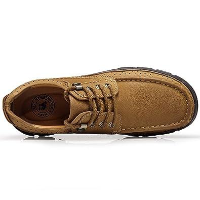 Outdoor Schuhe Sport Rutschfeste Camouflage Naht Wasserdichte Collision Toe Leichte Dicke GummisohleBrown b 41