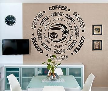 Vinyl Wall Decal Sticker Coffee Shop OS_DC180s Part 37