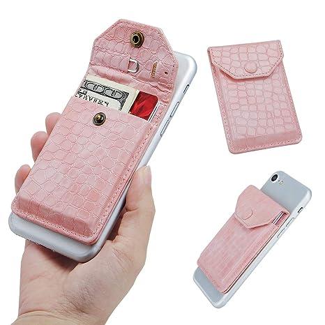 Wallet para Celular, YUNCE Stick-On Wallet que funciona como ...