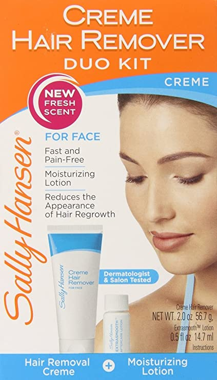 Crema depilatoria facial sally hansen