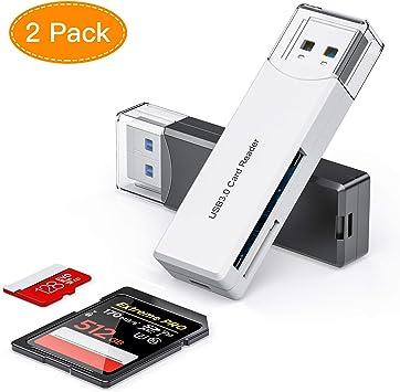 Honmax Lector Tarjetas de Memoria SD/Micro SD, Adaptador Micro SD ...