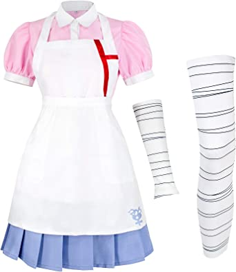 UU-Style Super Danganronpa 2 Mikan Tsumiki Cosplay Costume