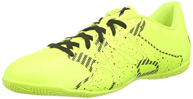 c95c8caf9 adidas Performance Men s X 15.4 Indoor Football Boots Yellow Gelb (Solar  Yellow Solar Yellow