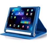 ELTD Lenovo Yoga Tab 3 Pro / Tab 3 Plus custodia, Book-style Custodia Cover in pelle PU per Lenovo Yoga Tab 3 Pro / Tab 3 Plus , Blu