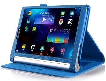 ELTD Lenovo Yoga Tab 3 Pro cover, Book-style Funda de piel de cuerpo entero para Lenovo Yoga Tab 3 Pro 10.1-inch con la función del sueño / despierta, ...