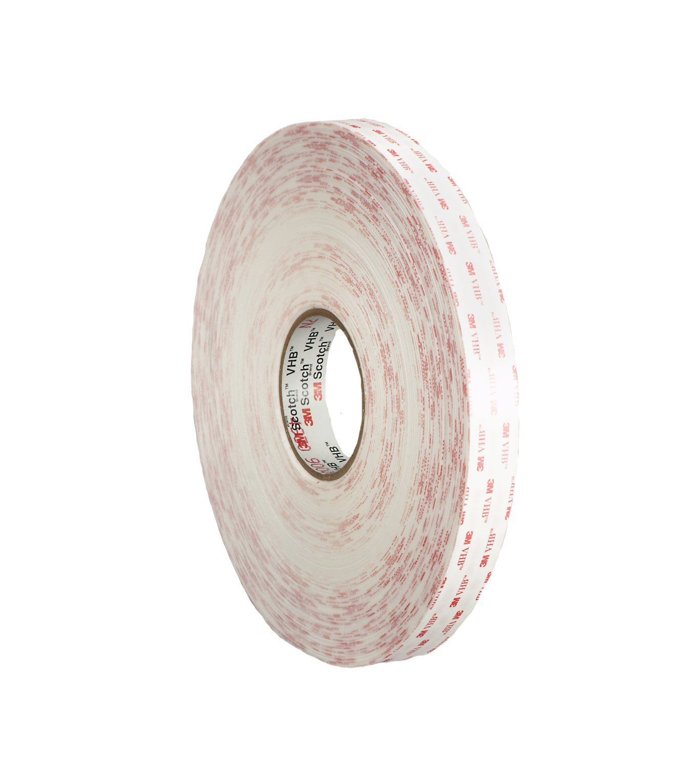 3M VHB Tape 4950 White, Mounting Tape1 in x 36 yd 45.0 mil (Case of 9)