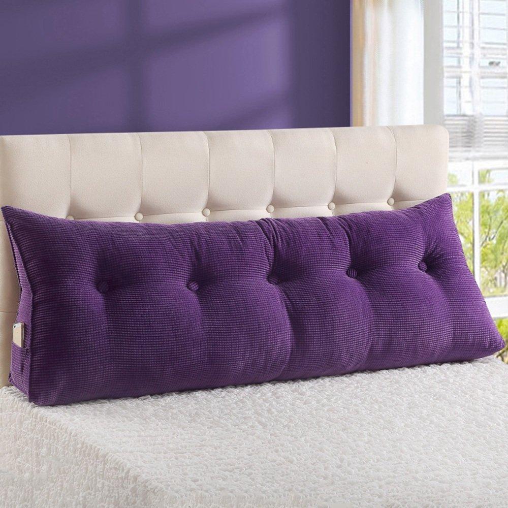 Cuscini comodini YANFEI Poggiacapo Comodo Morbido Rimovibile rispettoso dell'ambiente del Materasso (colore   B, Dimensioni   60  50  25CM)