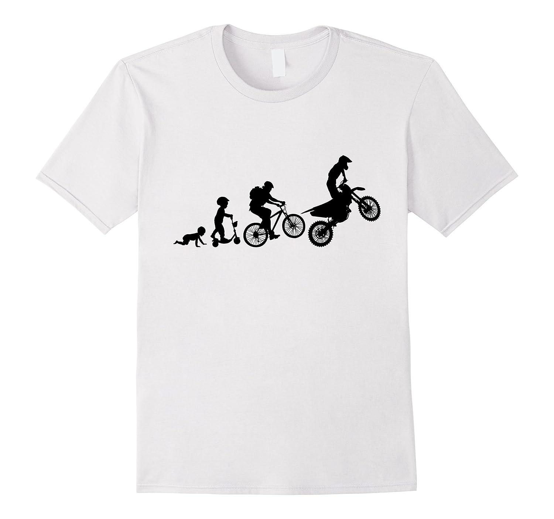 e0f98a4a1 Cool Design  Motocross Elovution   Funny Dirt bike T-shirt-CL – Colamaga