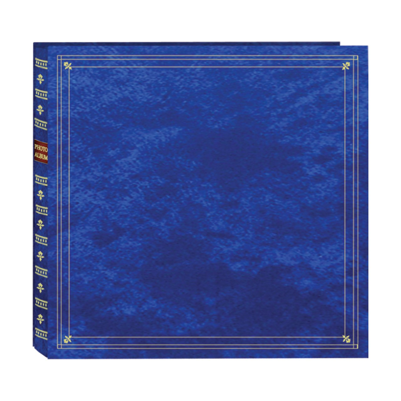 Pioneer Photo Albums 300-Pocket Post Bound Leatherette Cover Photo Album for 3.5 by 5.25-Inch Prints, Royal Blue MP-300/RB