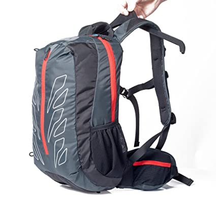 Tofern Nylon 15L Reflective Breathable Outdoor Cycling Travel Hiking  Climbing Shoulder Rucksack Backpack With Waterproof Bag f7fe10b68ef8a