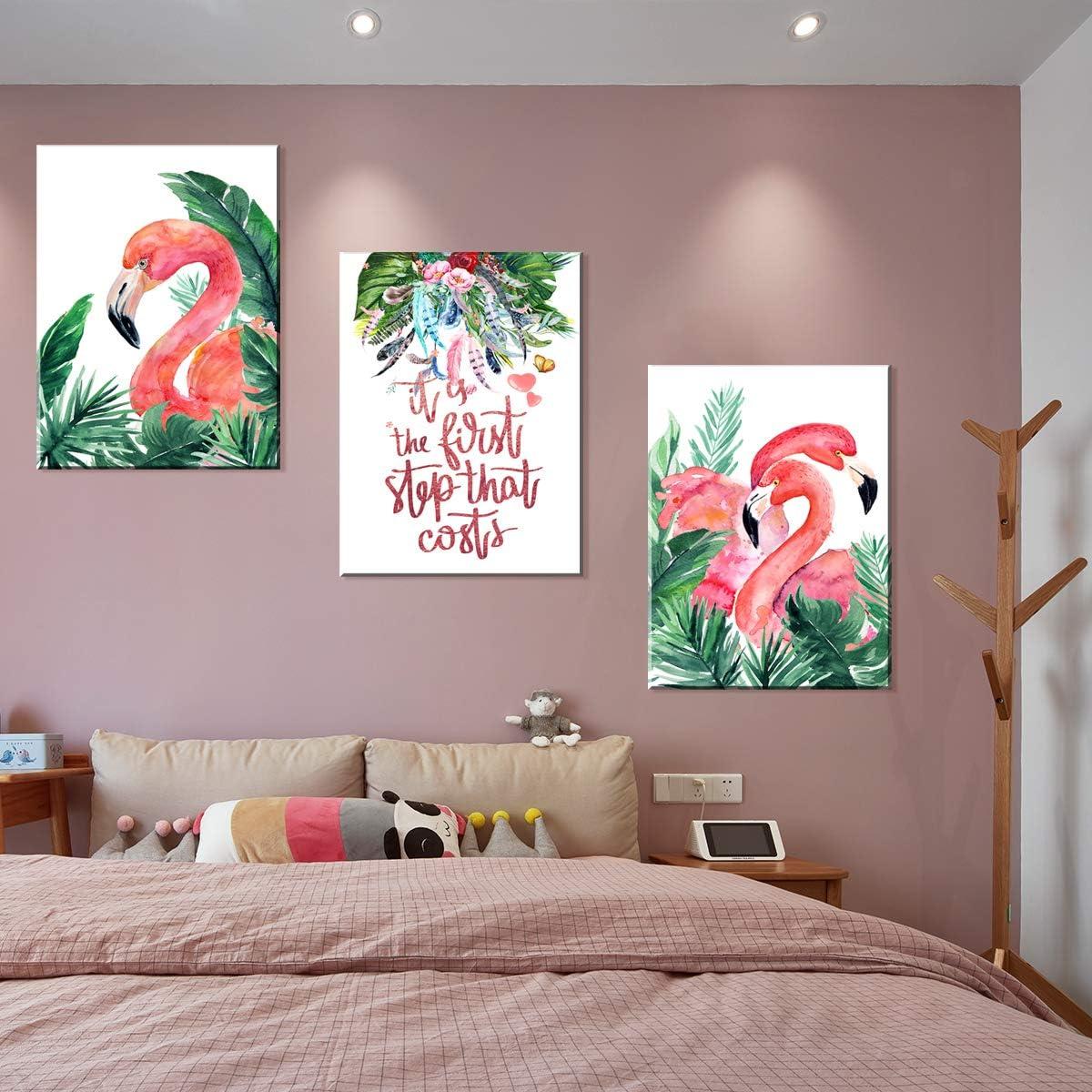 Enmarcado 12x18inch P/óster de La Land en lienzo y pared con impresi/ón moderna para decoraci/ón de dormitorio familiar
