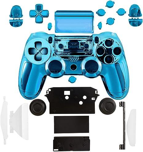 kwmobile Carcasa control de consola compatible con Playstation Controlador de PS 4 (1. Gen) en azul: Amazon.es: Videojuegos