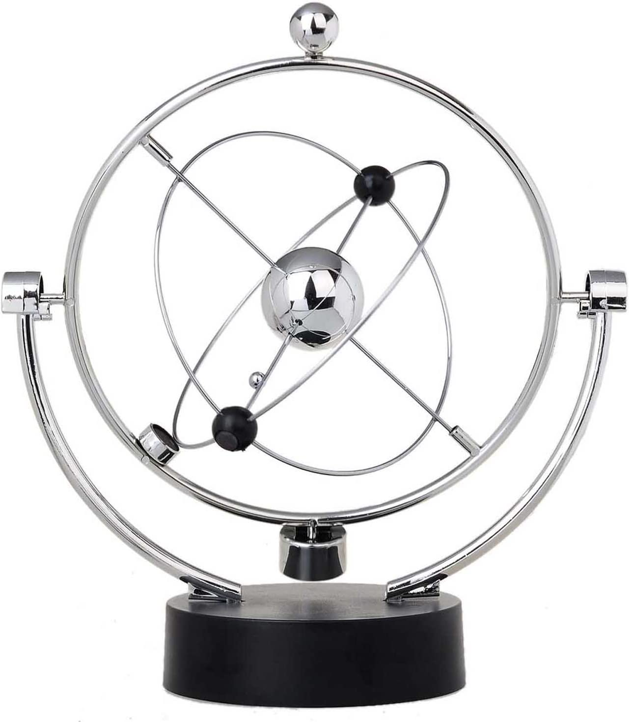 ThinkTop Educational Physics Mechanics Science Toy Kinetic Art Milky Way Orbital Gadget Perpetual Motion Gizmos Home Office Desk Decoration