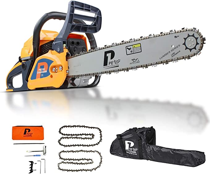 P1PE P6220C 2-Stroke Petrol Chainsaw - Affordable and Powerful
