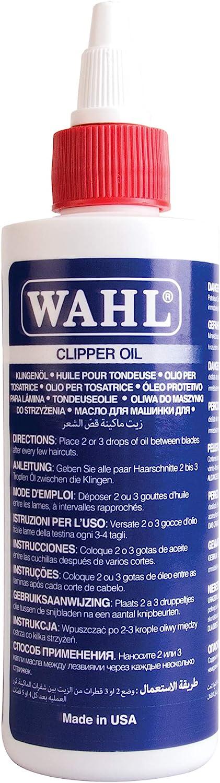 Aceite Lubricante WAHL WA-3310 para Barberos y Cortapelos