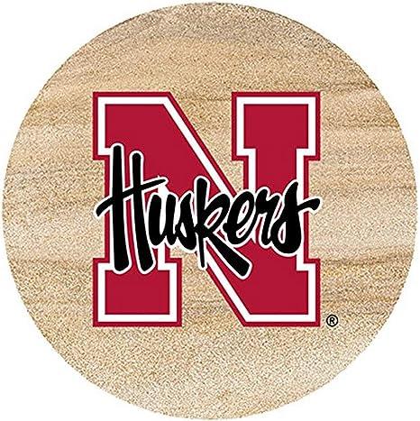 Thirstystone Drink Coaster Set University Of Nebraska Kitchen Dining