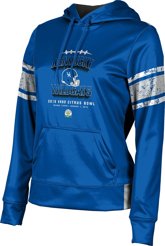 School Spirit Sweatshirt Splatter University of Kentucky Mens Pullover Hoodie