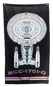 """Calhoun Star Trek Wall Banner (30"""" x 50"""") (USS Enterprise)"""