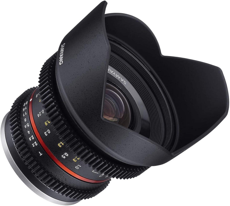 Samyang 14012t2 2f 12 Mm T2 2 Cine Ncs Cs Objektiv Für Kamera