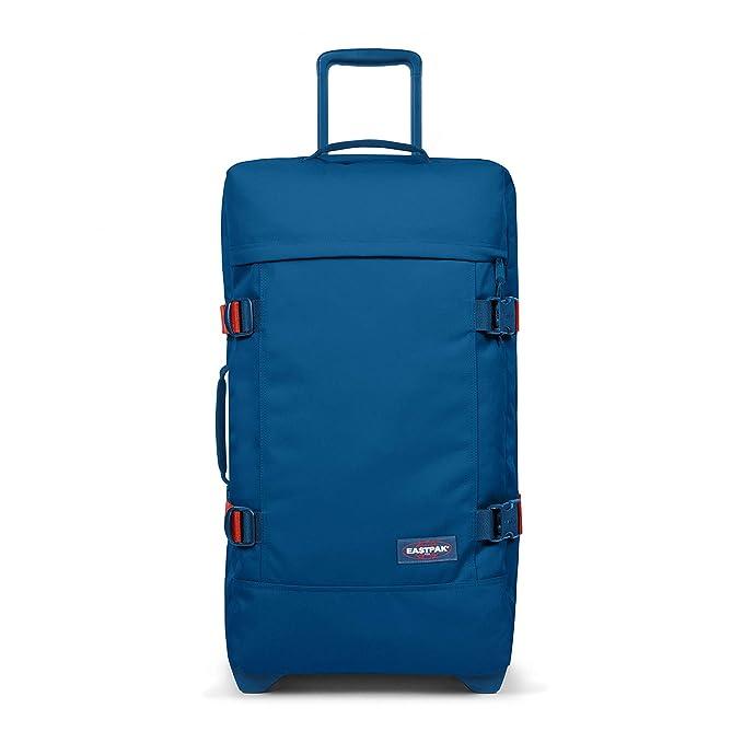 Eastpak TRANVERZ M Equipaje de Mano, 67 cm, 78 Liters, Azul (Blakout Urban)