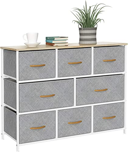 8 Drawers Dresser Fabric Storage Organizer