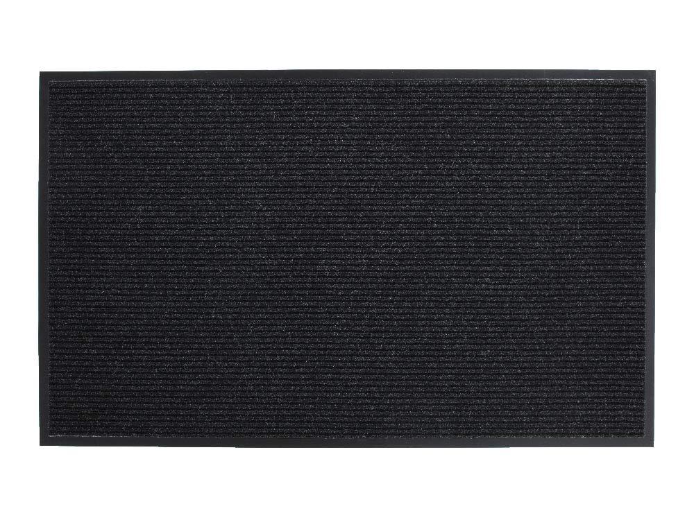 Vinyl//Polypropylene Grey 3/'x60/' Millennium Mat Company 64036050 3x60 Guardian Golden Series Dual-Rib Indoor Wiper Floor Mat