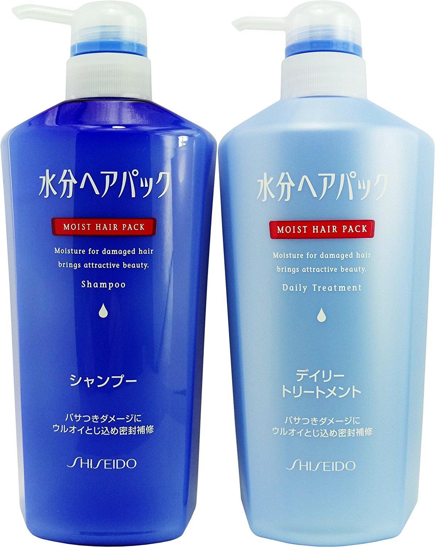 Shiseido Super Mild Hair Care Set Shampoo Pantene Sampo Total Damage 480ml Aquair Conditioner