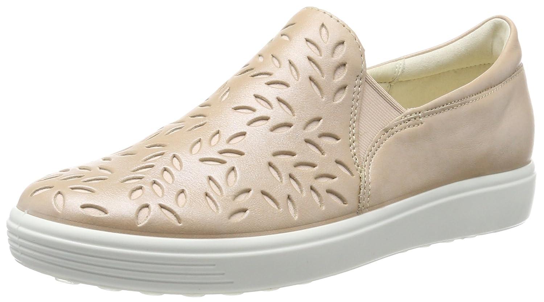 Ecco Soft 7 Ladies, Zapatillas Sin Cordones para Mujer, Beige (Powder), 38 EU