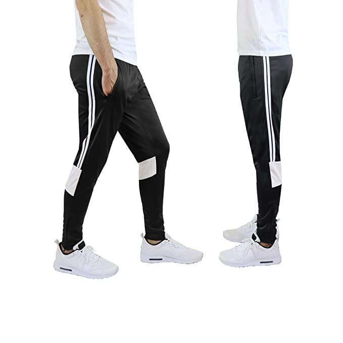 adidas performance men's interlock tracksuit pants yellowpubbg