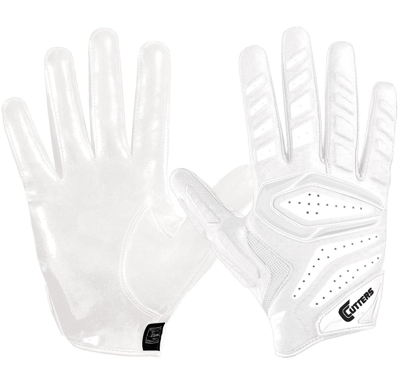 カッターすべての目的大人用ゲーマー2.0 Football Gloves B01N9VY48A ホワイト 3X-Large