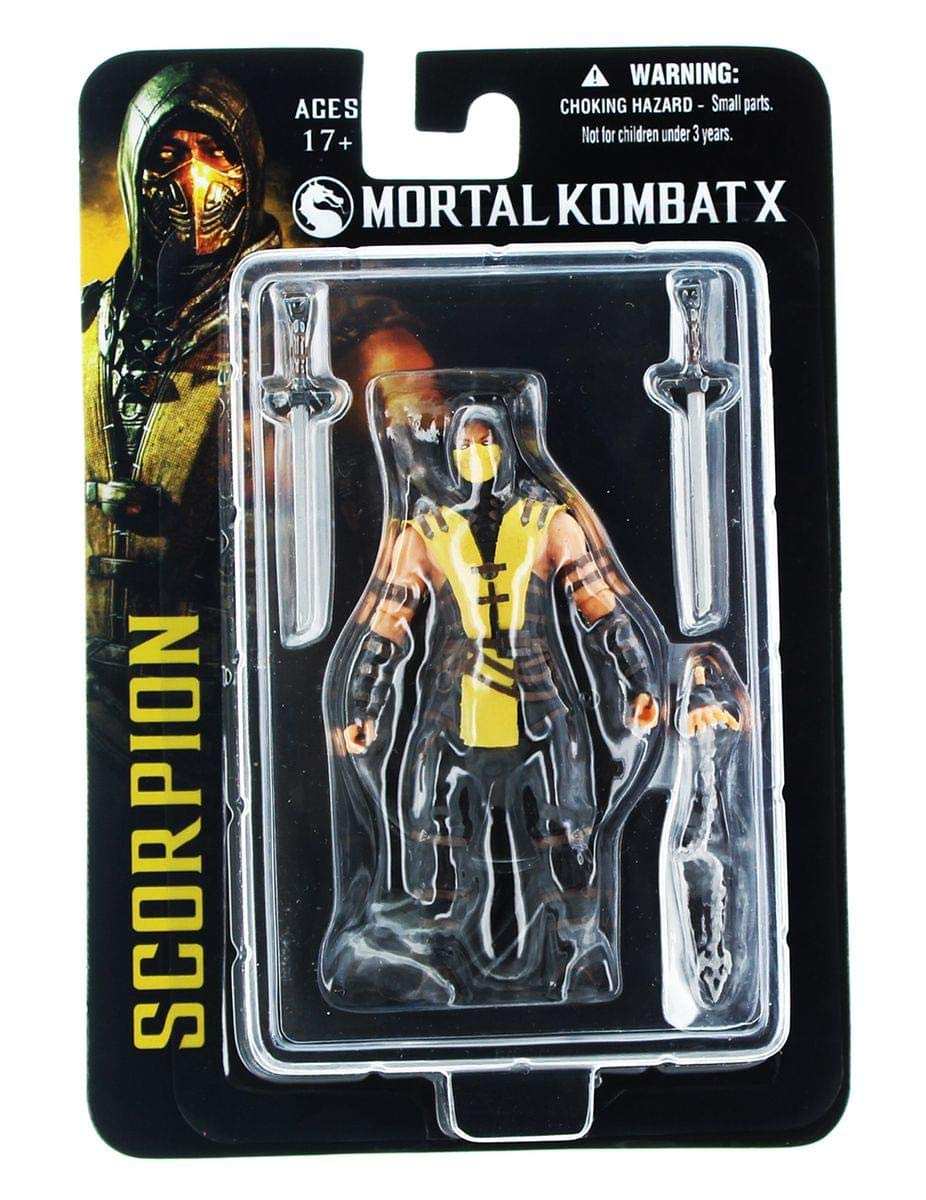 Mortal Kombat X 89201 3.75Inch Scorpion Figure