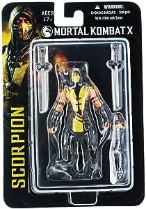 Mortal Kombat X 89201 - Figura de escorpión (3,7 Pulgadas): Amazon.es: Juguetes y juegos