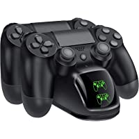 RockSolid PS4 Controller Charger, PlayStation 4 Charging Station, PS4 Charging Dock, PS4 Dual Shock Controller Charger For Sony PlayStation 4 Controller