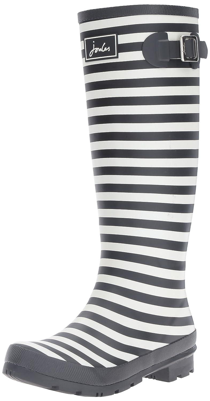 Joules Women's Welly Print Rain Boot B01F00DCIQ 9 B(M) US|Black Stripe