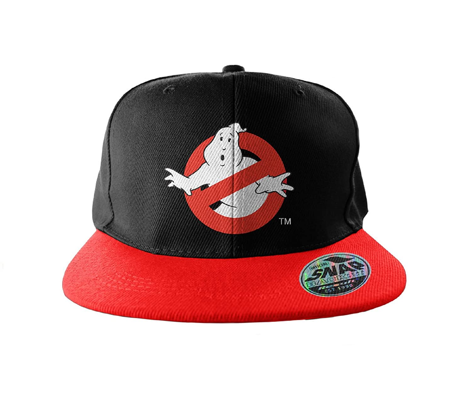 Amazon.com  Ghostbusters Baseball Cap Snapback Cap Logo Embroidered ... c763217a0053
