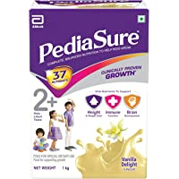 PediaSure Health & Nutrition Drink Powder for Kids Growth - 1kg (Vanilla)