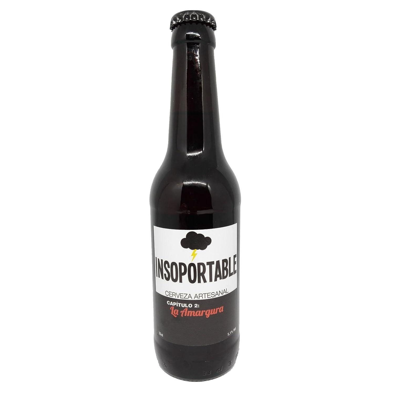 Insoportable - Cerveza Artesanal - Capitulo 2: La Amargura - Pale Ale. Botelllin 33 cl