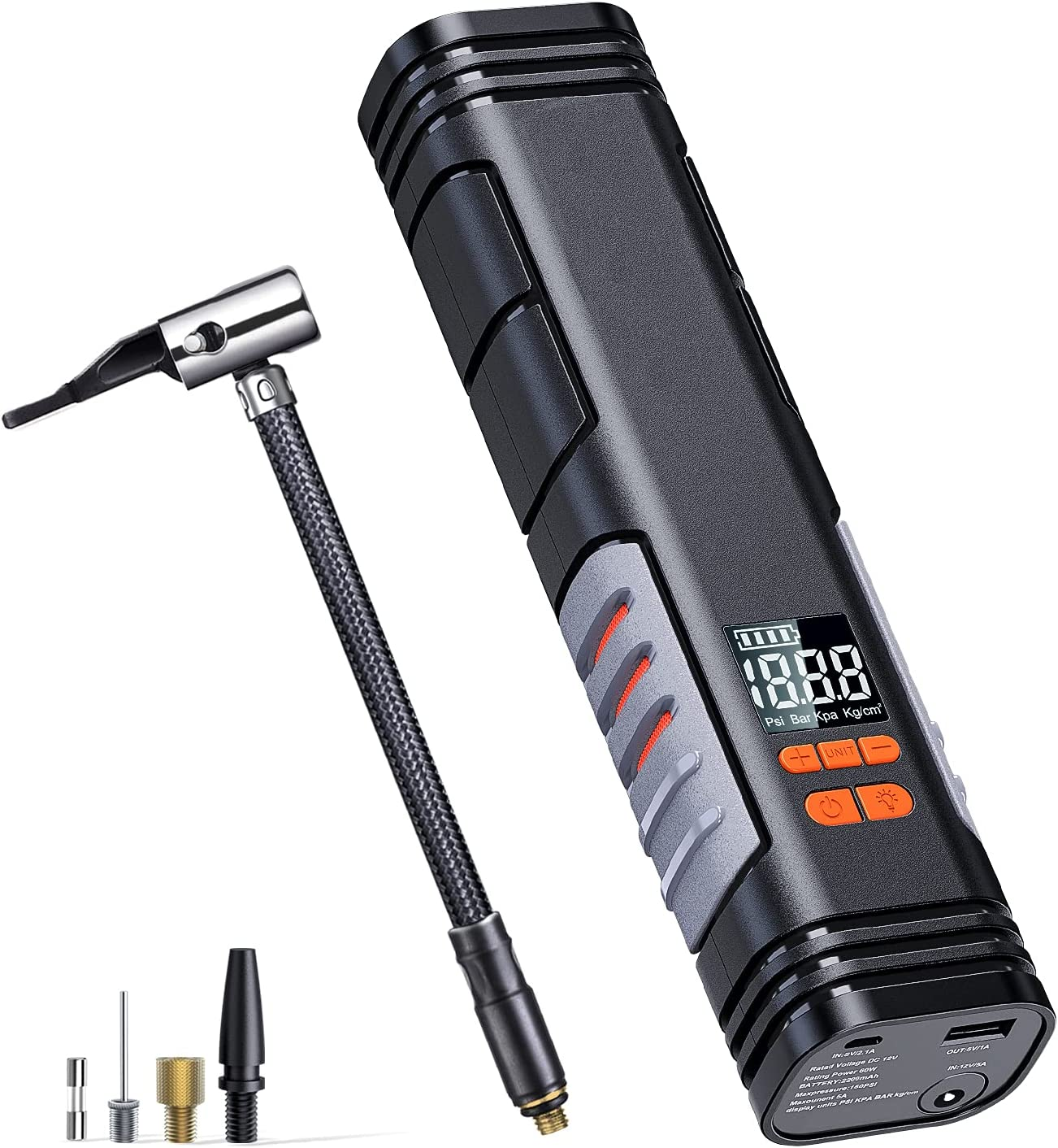 Tacklife 150 PSI X1  Rechargeable Cordless Tire Inflator $34.99 Coupon