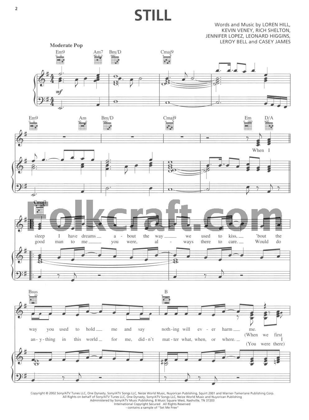 Hal Leonard Jennifer Lopez - This Is Me . . . Then Piano, Vocal ...