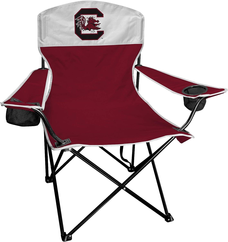 Sports Chair U Of South Carolina Gamecocks Digital Tailgate  Portable Black